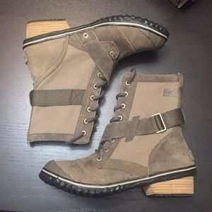 """Sorel """"Slimboot Lace"""" in taupe"""
